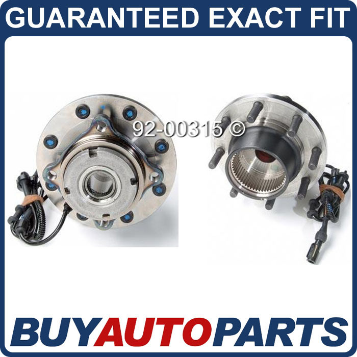 PAIR FORD SUPERDUTY DUALLY 4X4 FRONT WHEEL HUB BEARINGS
