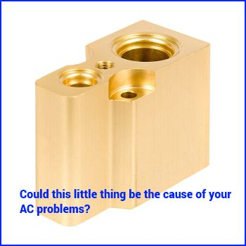 AC Blowing but NOT Cool? Check out the Expansion Valve - BLOG on