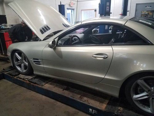 Is Your Mercedes AirMatic Suspension Sagging or Compressor Seized