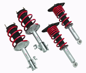 THE DIFFERENCE BETWEEN SHOCKS & STRUTS