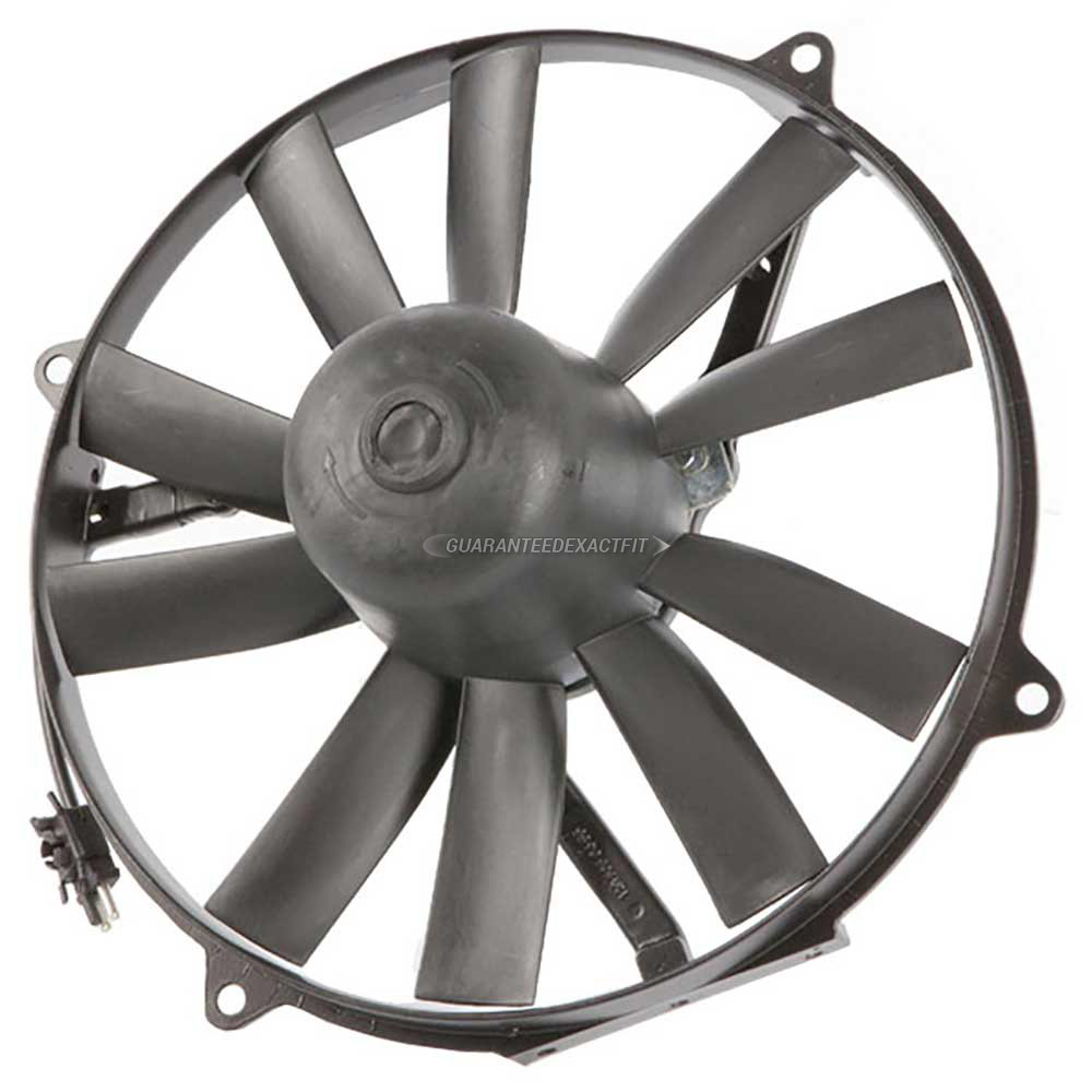 Mercedes Benz 560SEL Cooling Fan Assembly