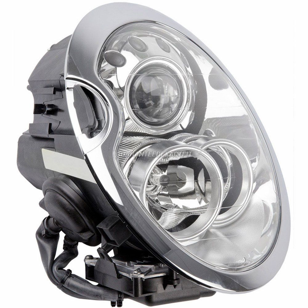 Mini  Headlight Assembly Pair