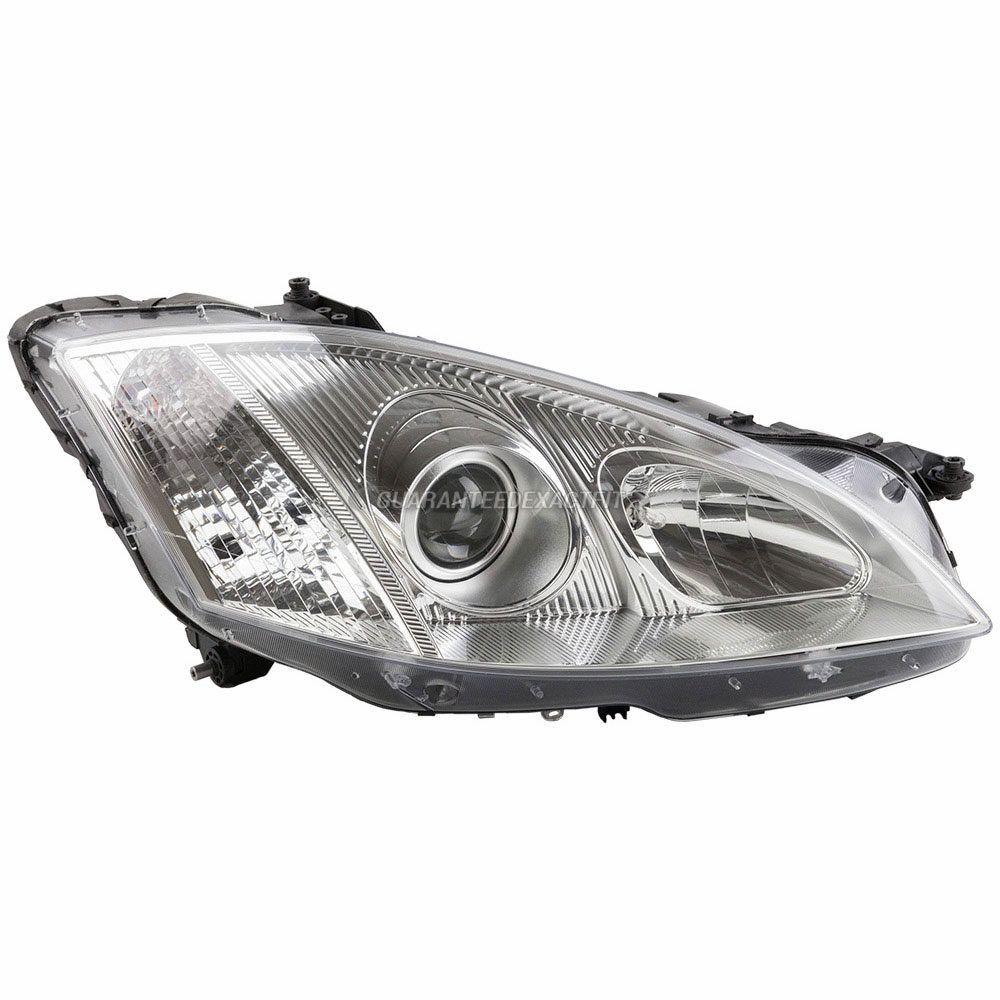 Headlight Assembly Parts : Mercedes benz s headlight assembly parts view online