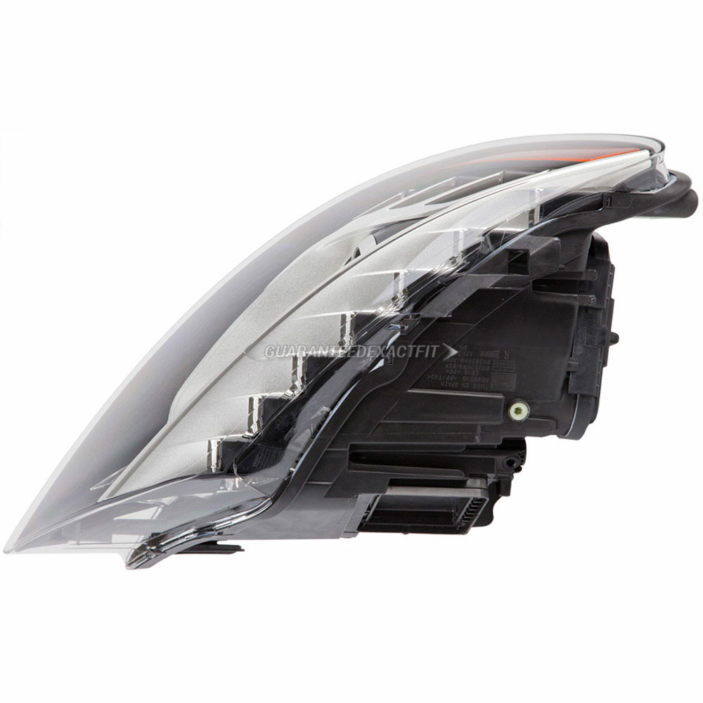 2012 Audi Q7 Headlight Assembly Right Passenger Side