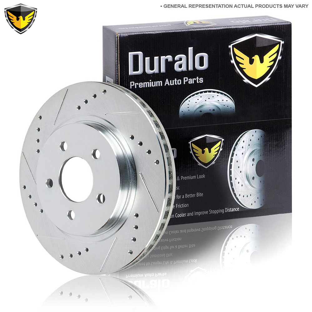 Mercedes Benz SLK320 Brake Disc Rotor