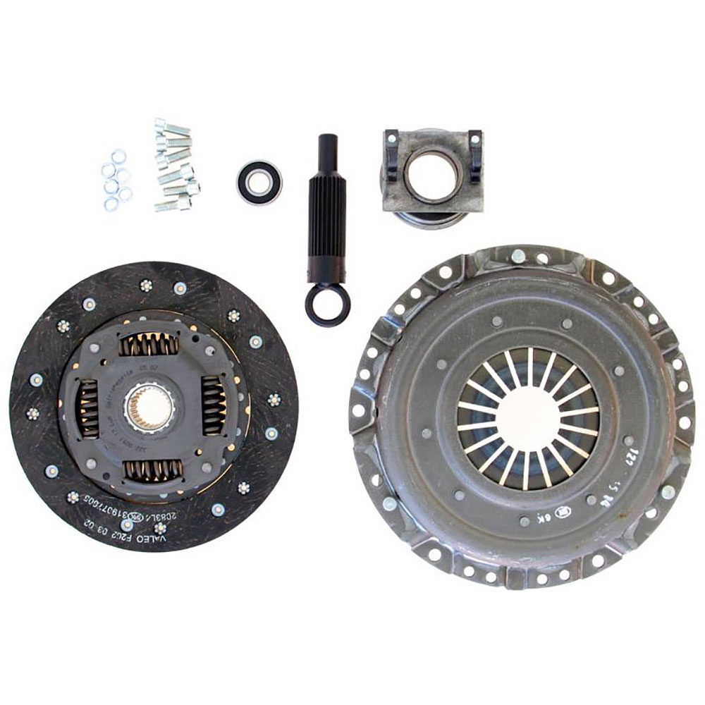 1985 Mercedes Benz 190D Clutch Kit