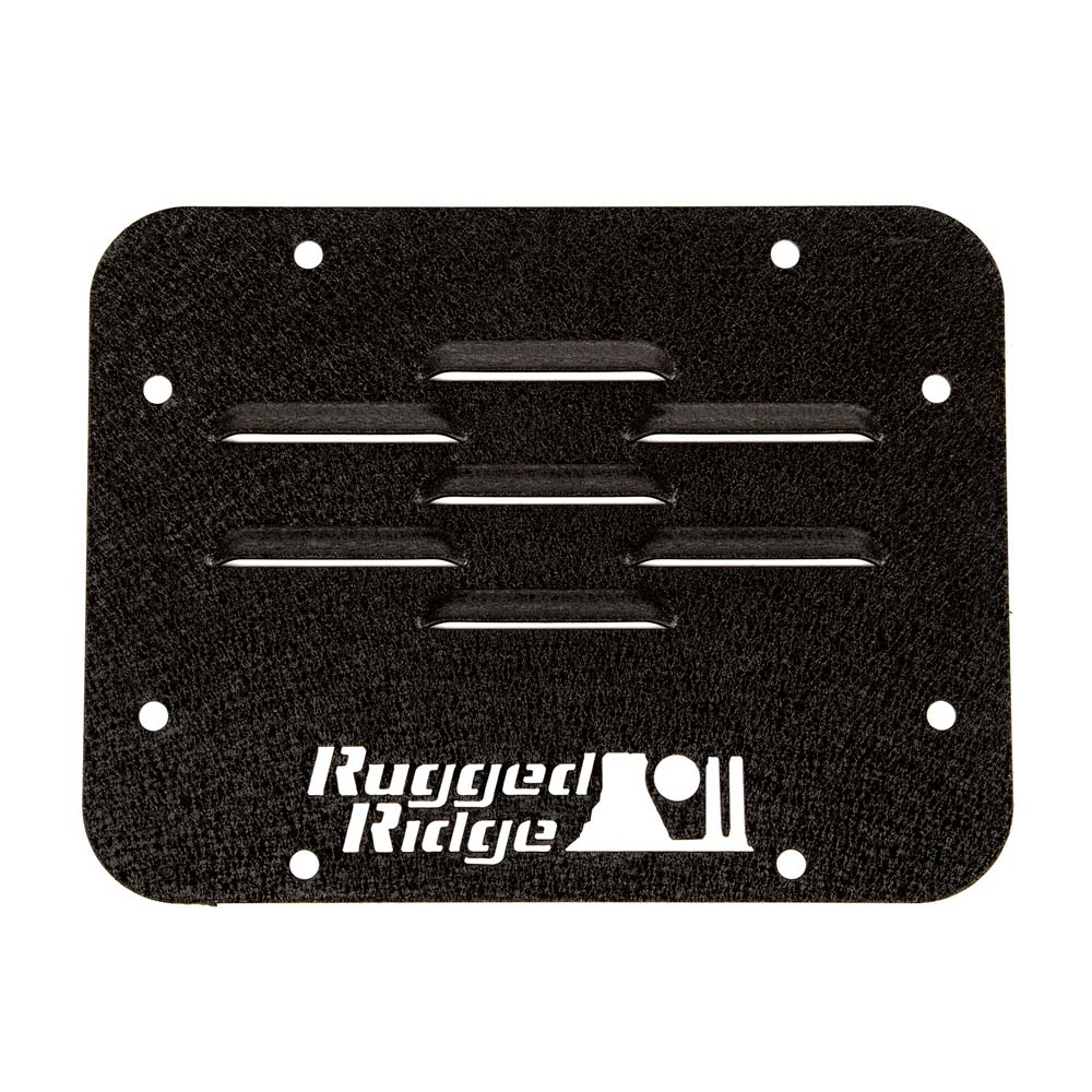 Spare Tire Carrier Delete Plate