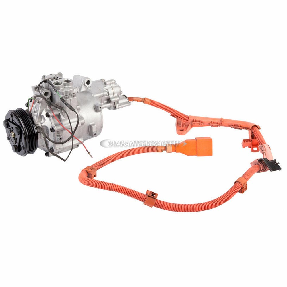 Ac Compressors For Honda Civic 2006 2011 Oem Ref38810rmxa01 From Compressor Wiring A C