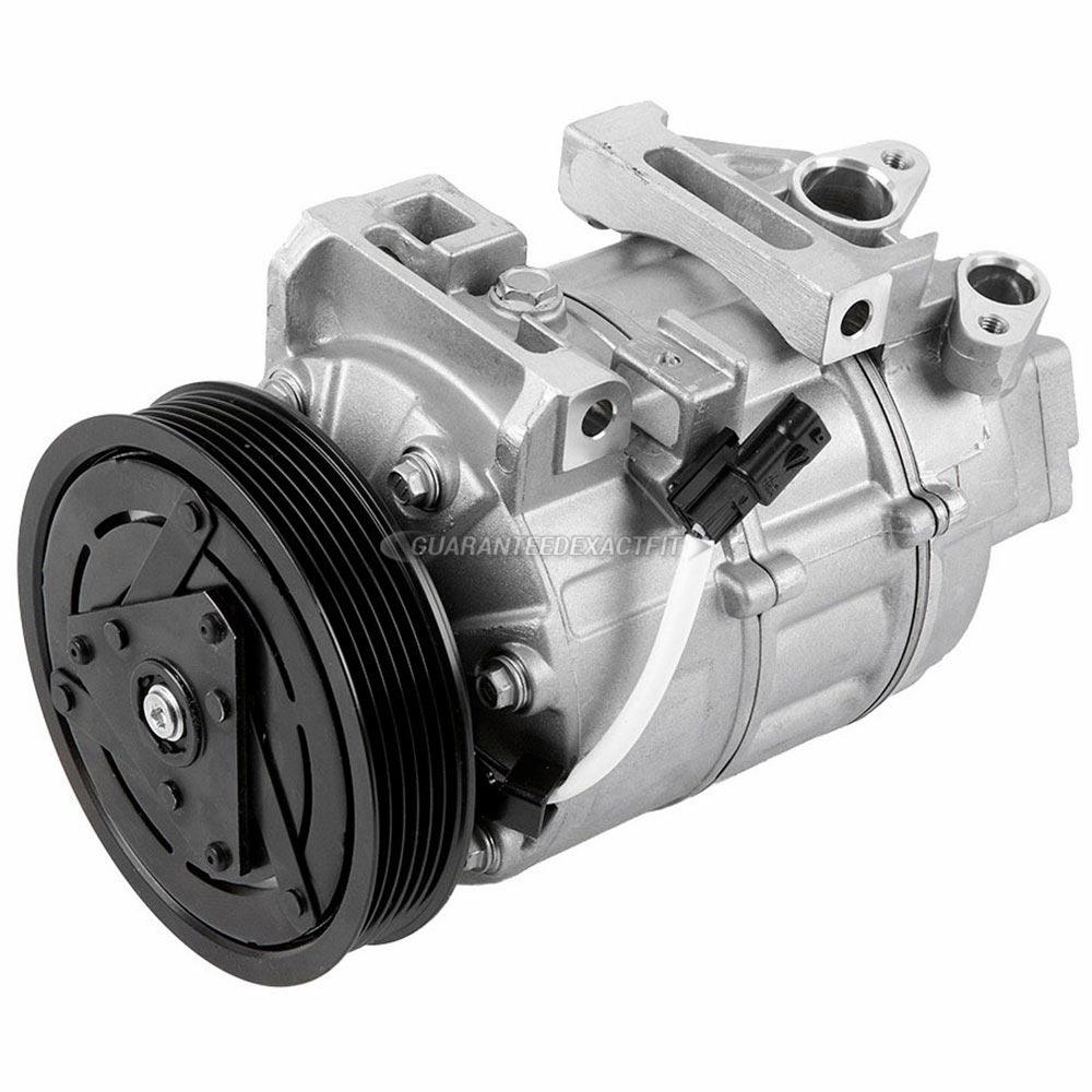 2010 Nissan Altima A  C Compressor 2 5l Engine Non Hybrid