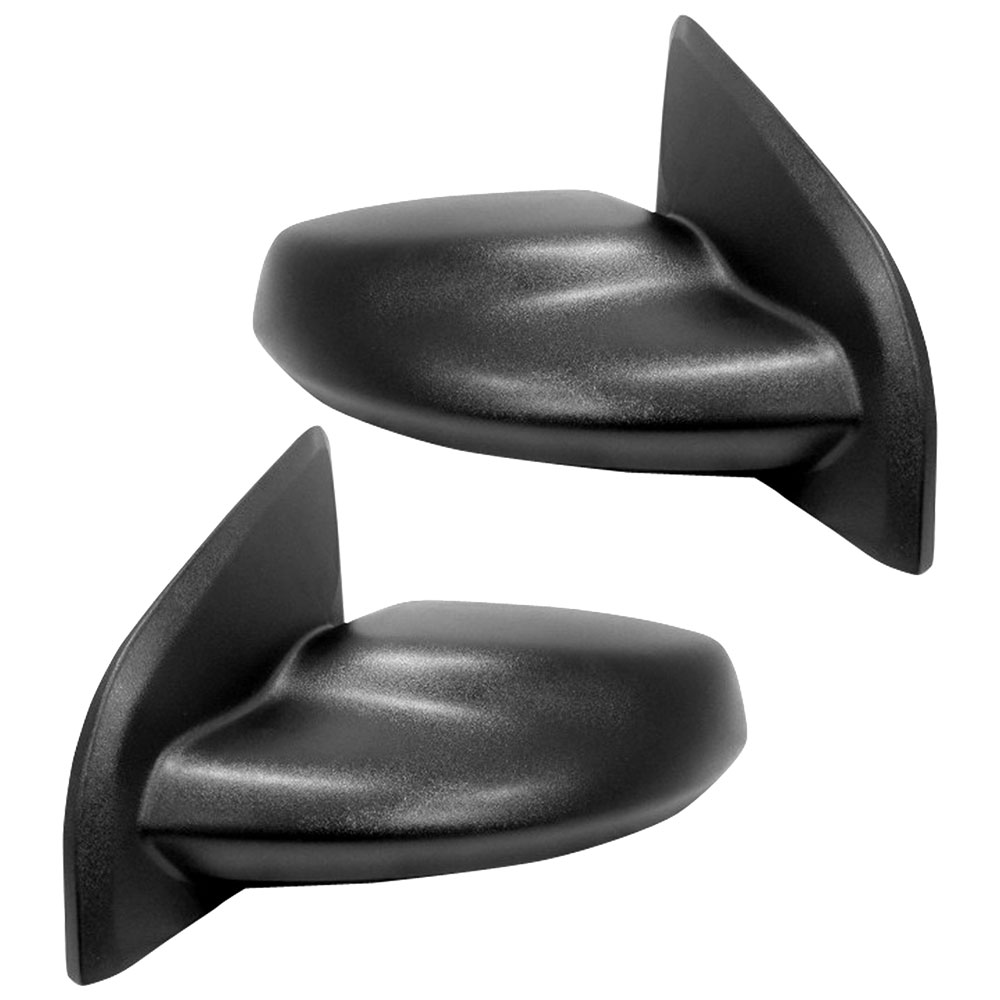 BuyAutoParts 14-80068MX Side View Mirror Set