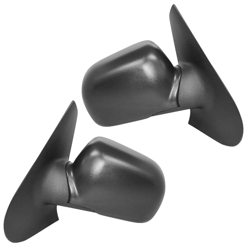 BuyAutoParts 14-80139MX Side View Mirror Set