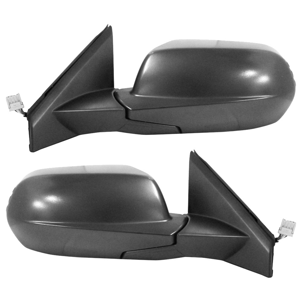 BuyAutoParts 14-80245MW Side View Mirror Set