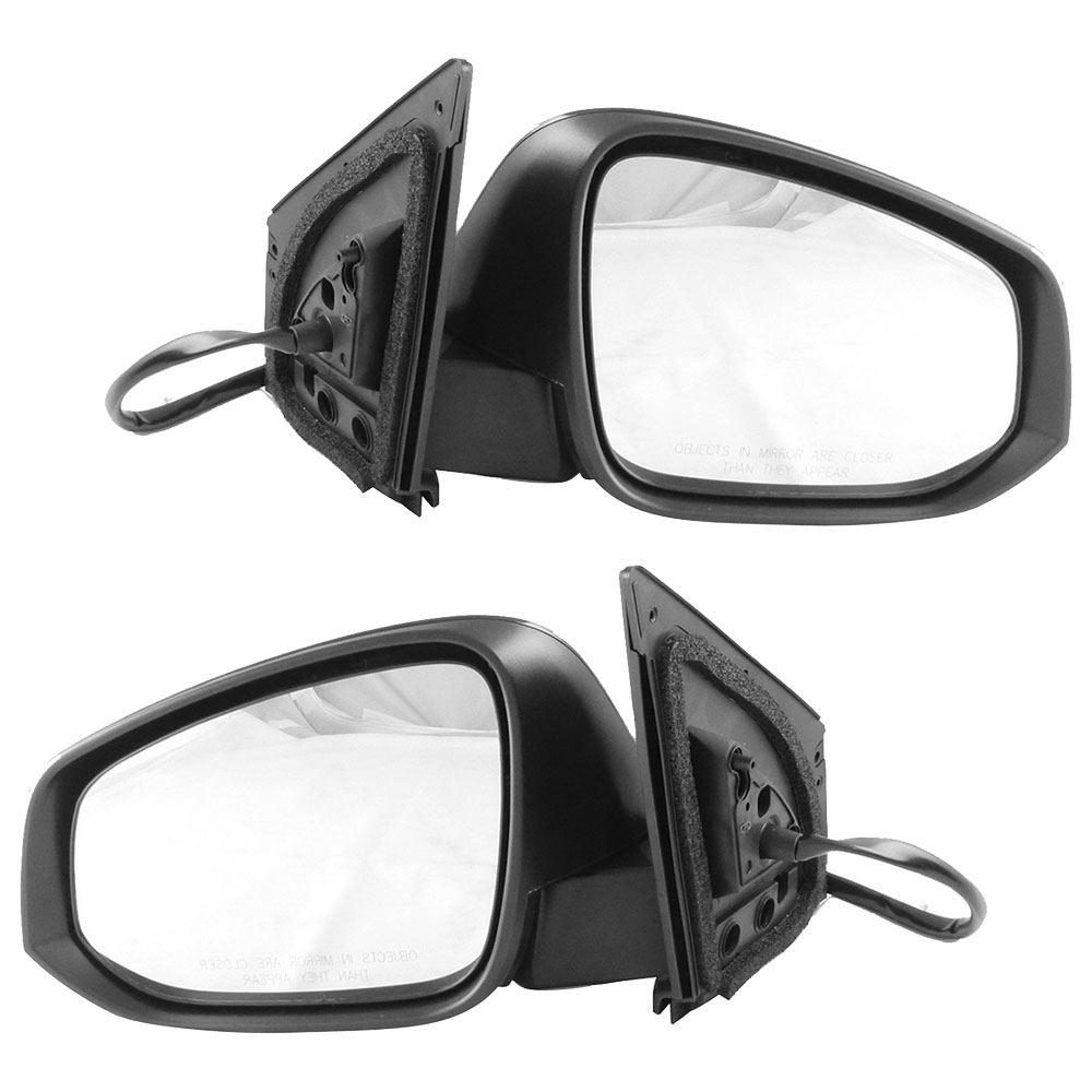 BuyAutoParts 14-80298MS Side View Mirror Set