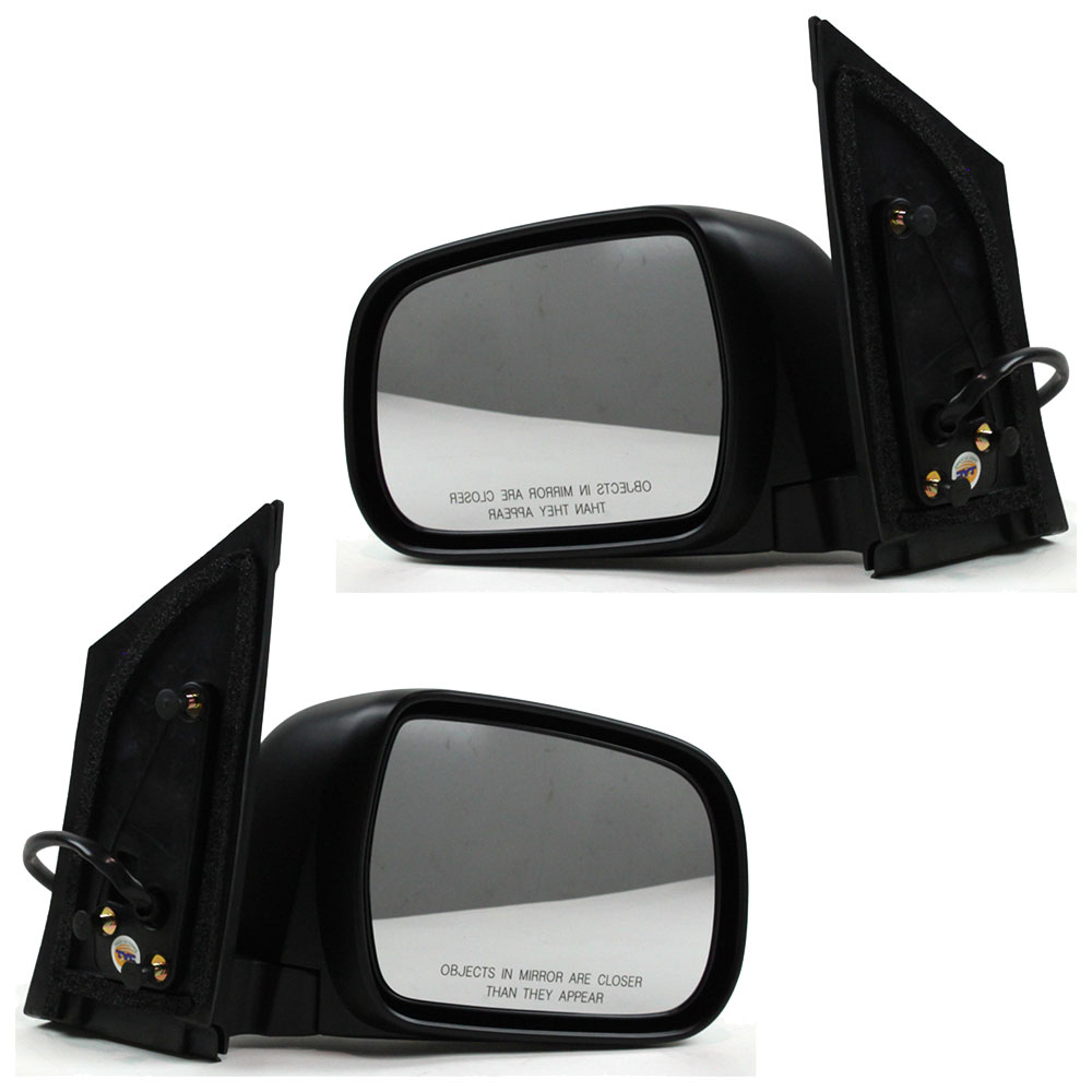 BuyAutoParts 14-80326MX Side View Mirror Set