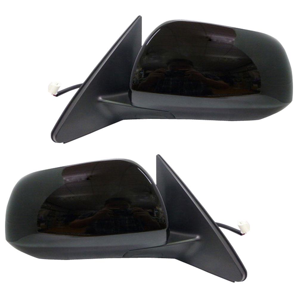 2012 Toyota Highlander Limited: 2012 Toyota Highlander Side View Mirror Set W/ Heat
