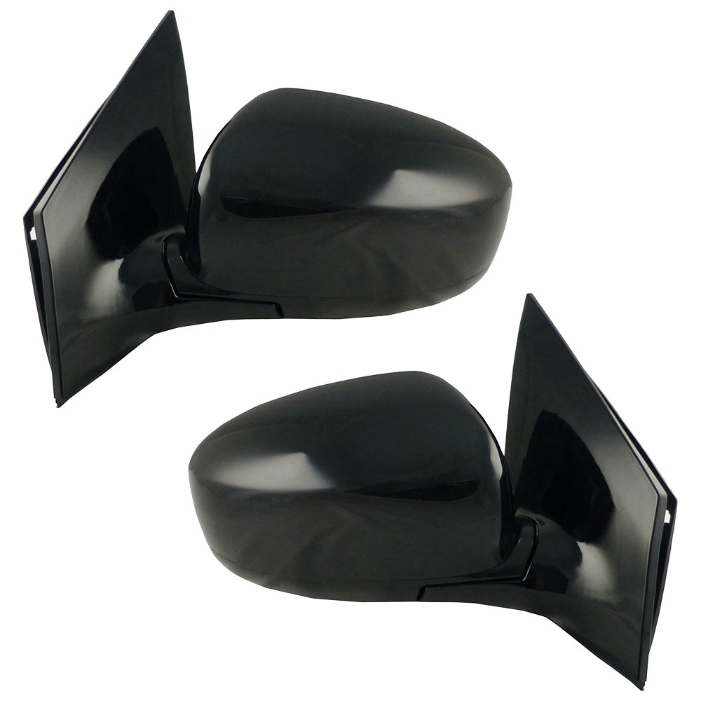 BuyAutoParts 14-80410MW Side View Mirror Set
