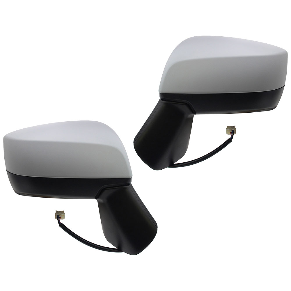 BuyAutoParts 14-80471MW Side View Mirror Set
