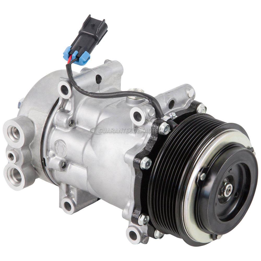 OEM Sanden 5077 AC Compressor w// A//C Clutch
