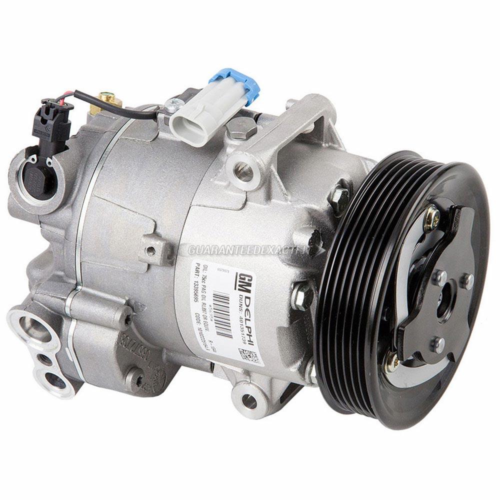 Chevrolet Cruze New OEM Compressor w Clutch