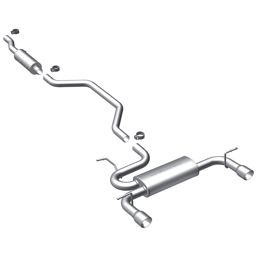 Chrysler 200 Cat Back Performance Exhaust