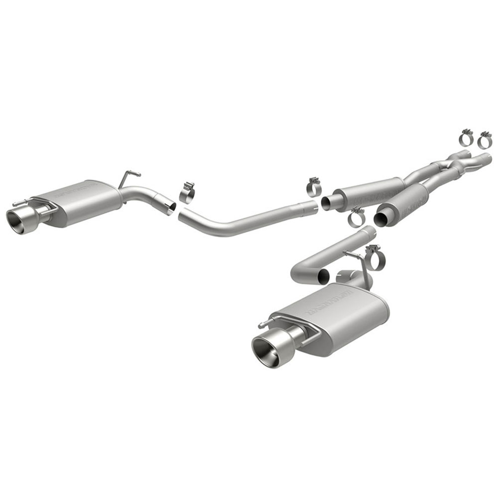 Cadillac CTS Cat Back Performance Exhaust