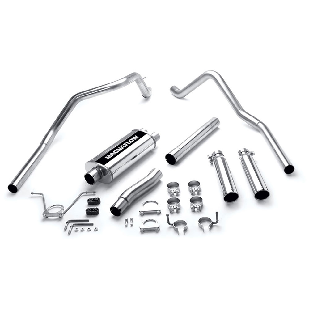 Dodge Dakota Cat Back Performance Exhaust