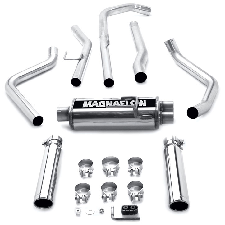 Nissan Titan Cat Back Performance Exhaust