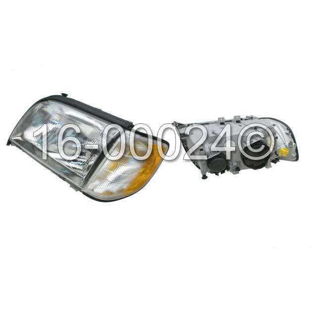 Mercedes Benz S320 Headlight Assembly