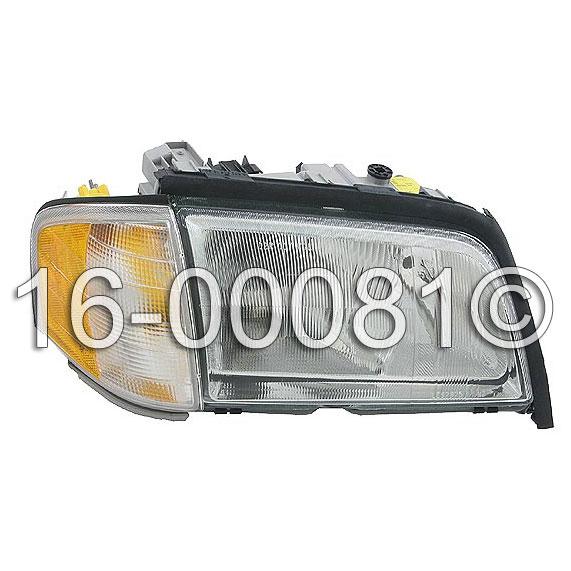 Mercedes_Benz C43 AMG Headlight Assembly
