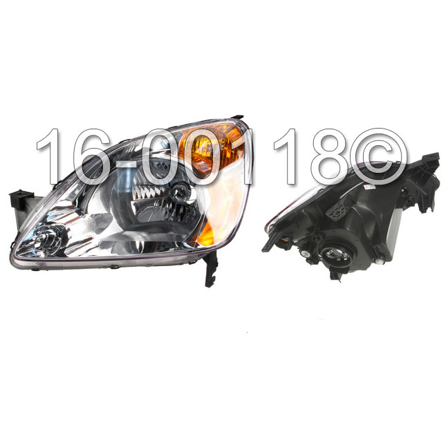 Headlight Assembly 16-00118 AN