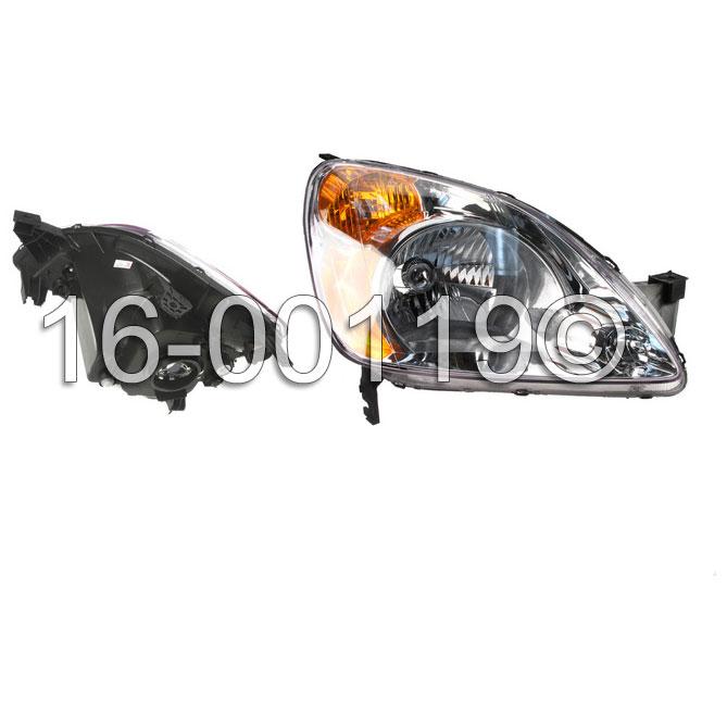 Honda CRV Headlight Assembly
