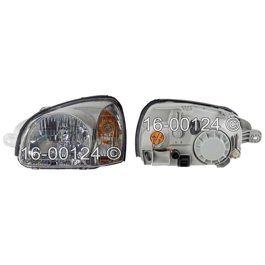 Hyundai  Headlight Assembly