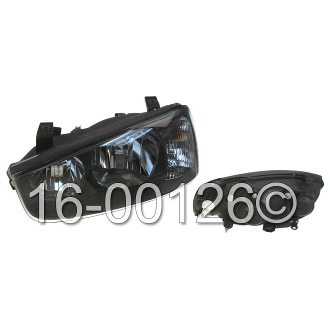 Hyundai Elantra Headlight Assembly