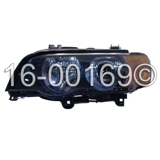 Headlight Assembly 16-00169 HH