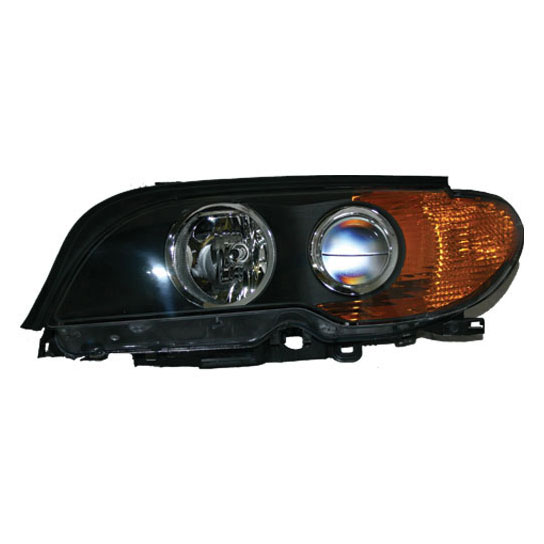 2004 BMW 325Ci Headlight Assembly Left Driver Side