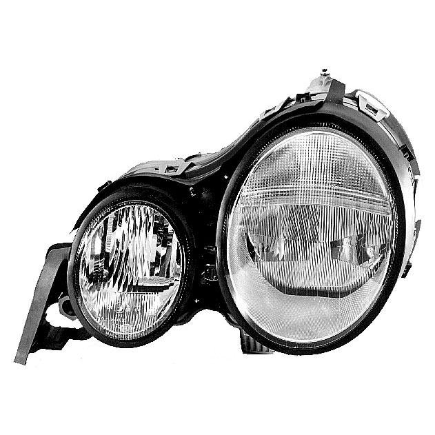 Mercedes Benz E300D Headlight Assembly
