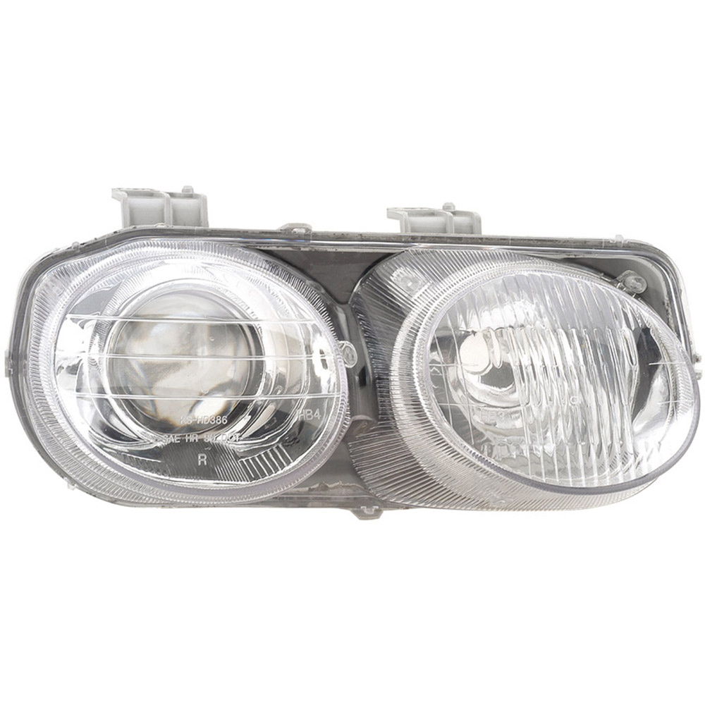 1998 Acura Integra Headlight Assembly Pair Pair Of