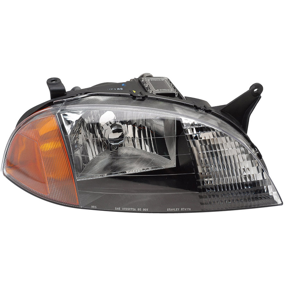 BuyAutoParts 16-80356A9 Headlight Assembly Pair