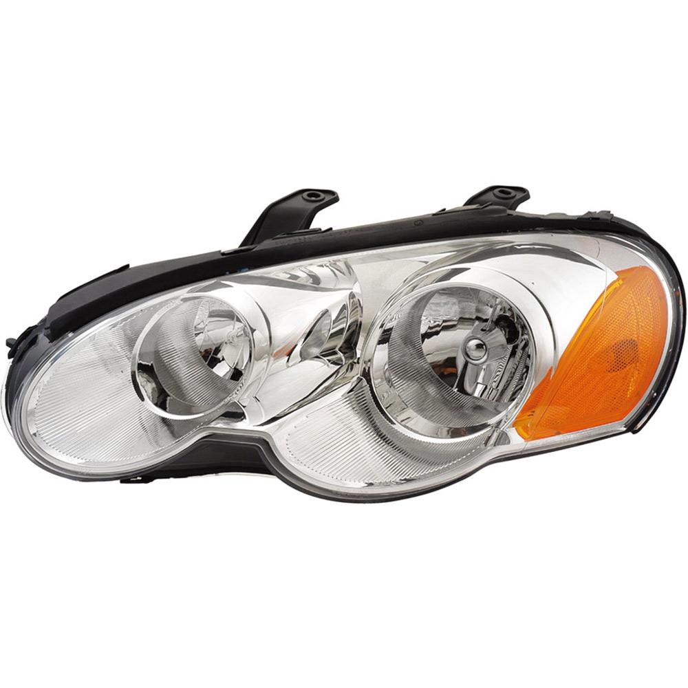 2005 chrysler sebring headlight assembly left driver side. Black Bedroom Furniture Sets. Home Design Ideas