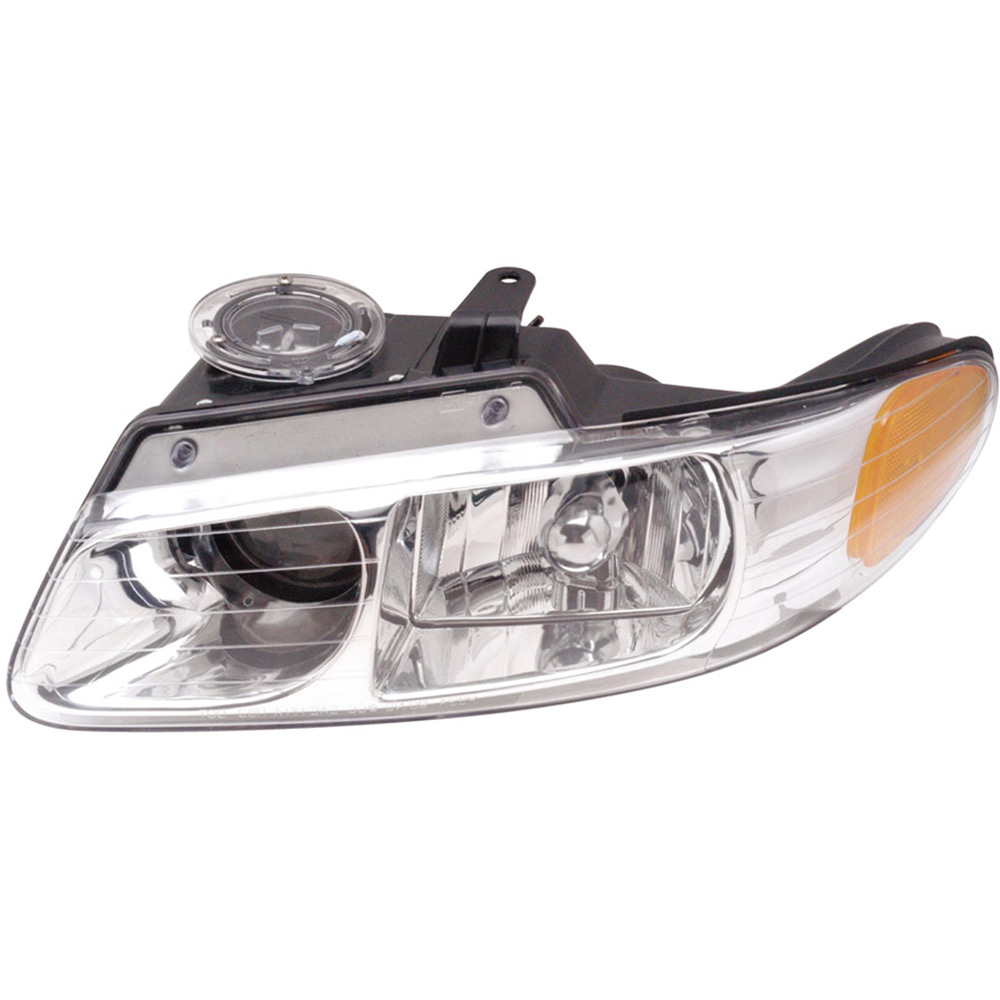 2000 chrysler town and country headlight assembly pair. Black Bedroom Furniture Sets. Home Design Ideas