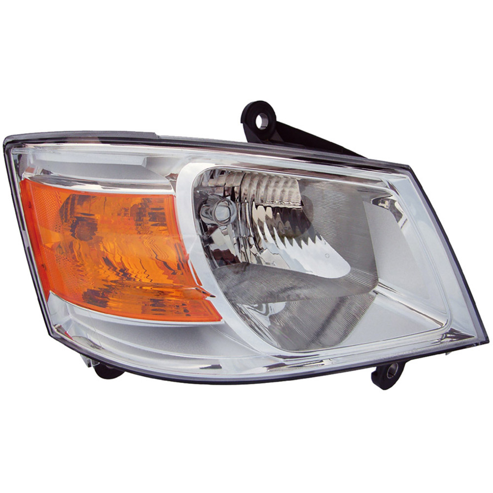 2010    Dodge       Grand       Caravan       Headlight    Assembly Left Driver