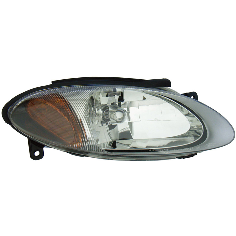 BuyAutoParts 16-00690AN Headlight Assembly