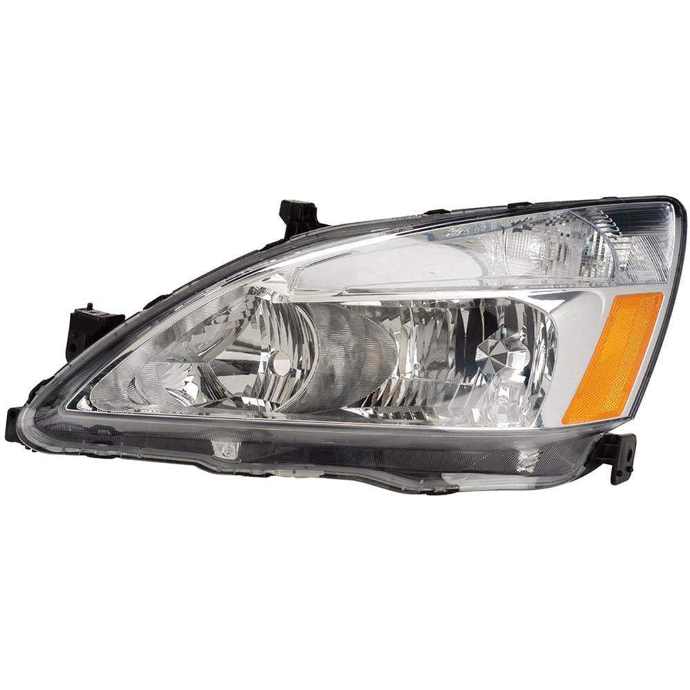 Headlight Assembly Parts : Honda accord headlight assembly left driver side