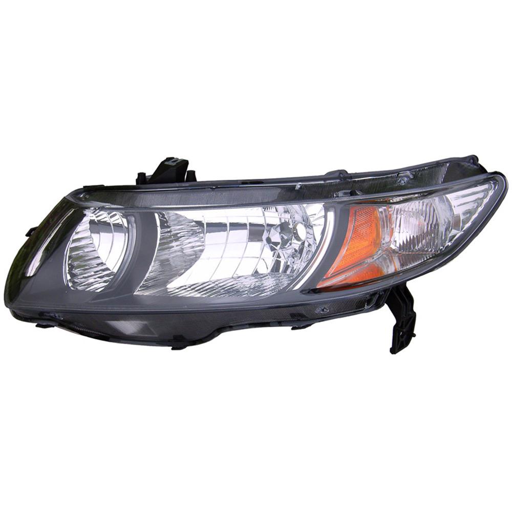 Honda Vehicle Headlights : Honda civic headlight assembly left driver side