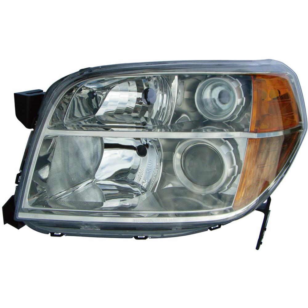 Headlight Assembly Parts : Honda pilot headlight assembly left driver side