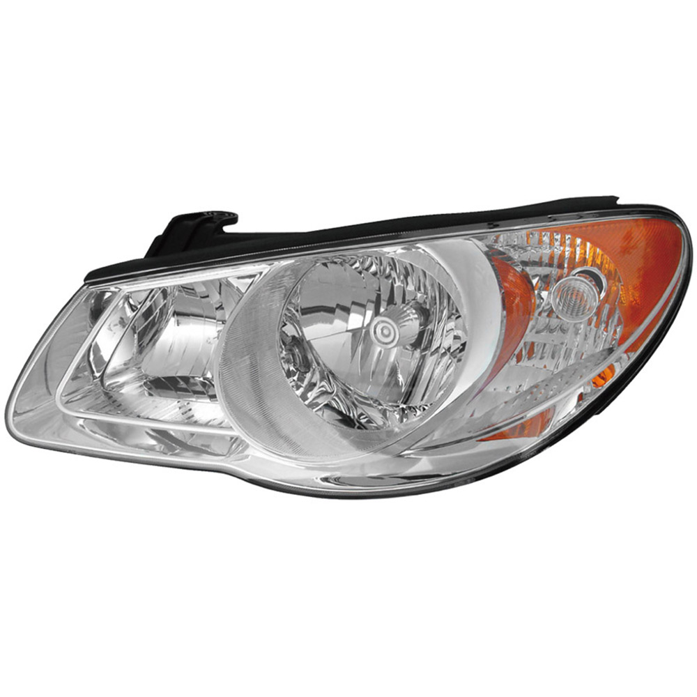 Hyundai Elantra Extended Warranty: 2009 Hyundai Elantra Headlight Assembly Left Driver Side