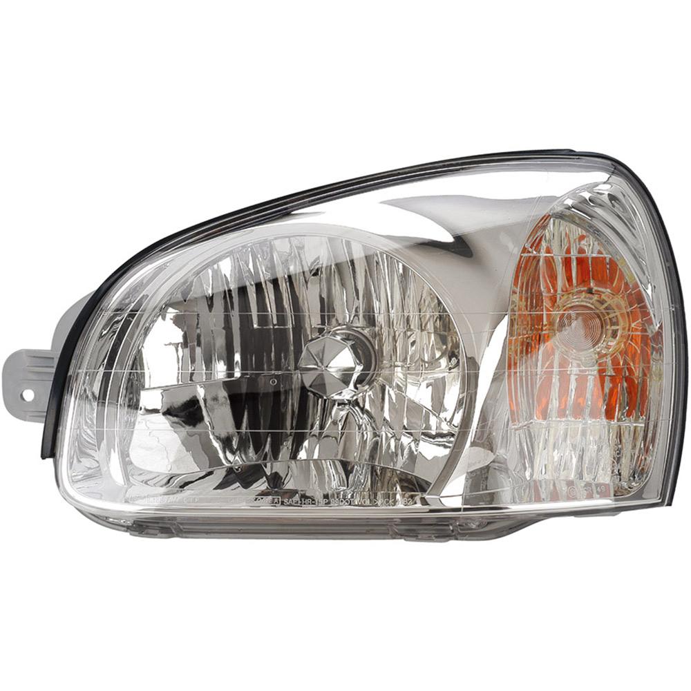 Hyundai Santa Fe Headlight Assembly