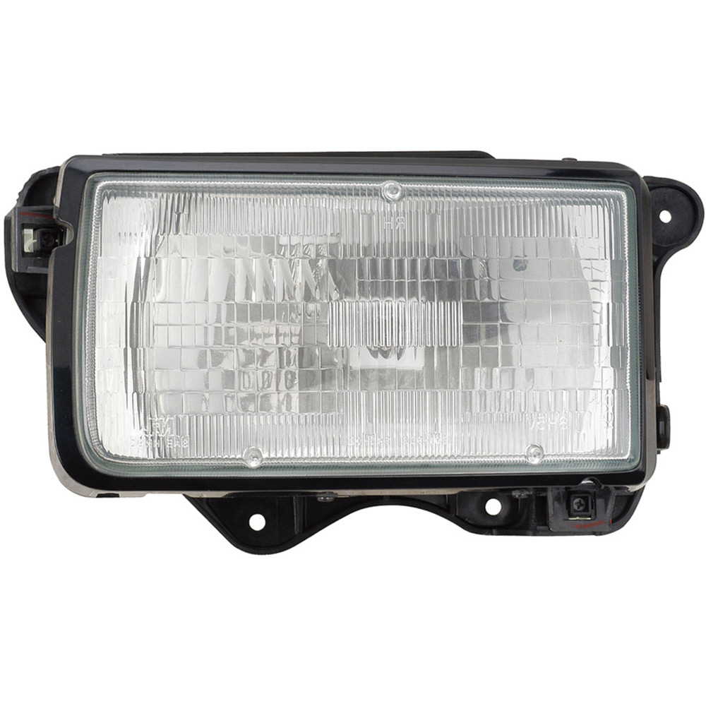 BuyAutoParts 16-00919AN Headlight Assembly