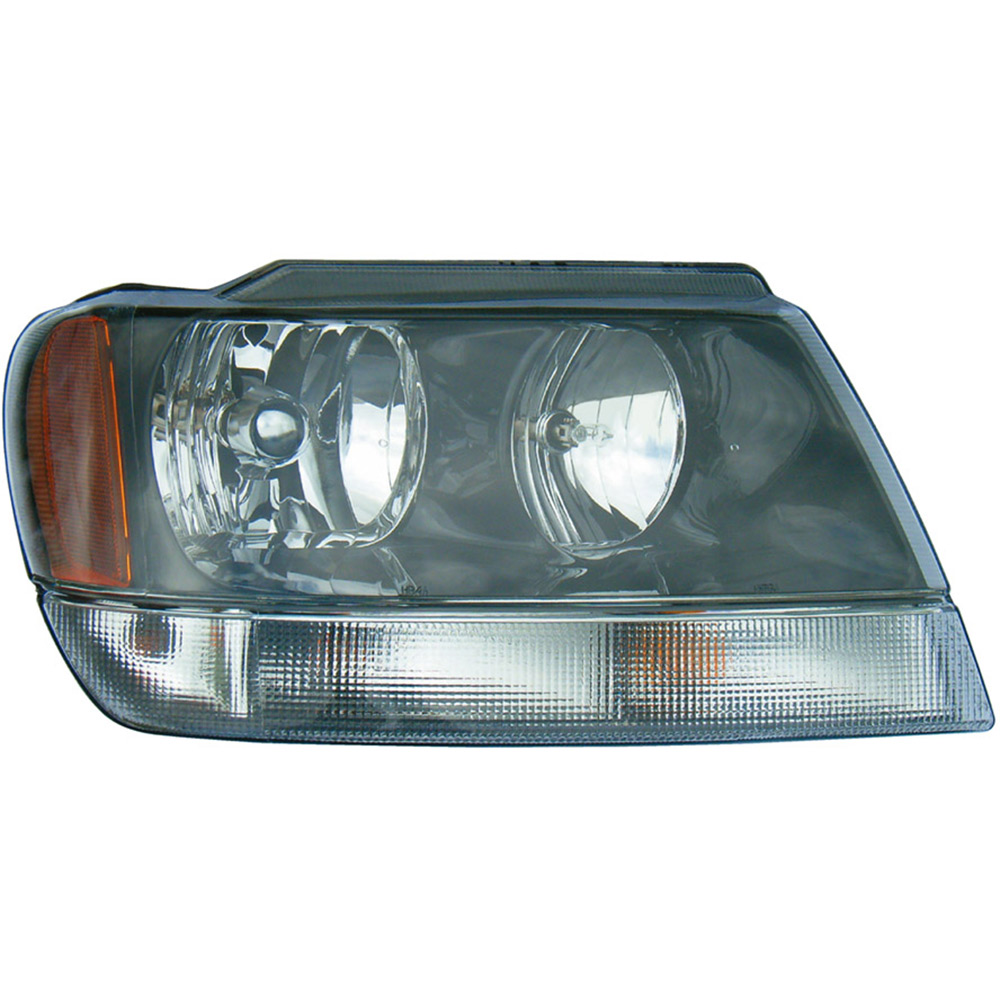 jeep grand cherokee headlight assembly parts, view  part
