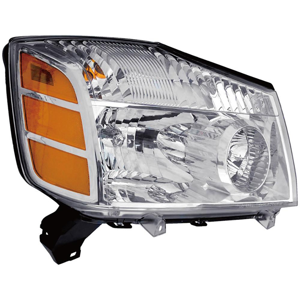 Nissan Titan Headlight Assembly